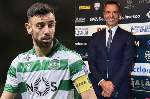 Jorge Mendes confirms Man Utd transfer target Bruno Fernandes will leave Sporting