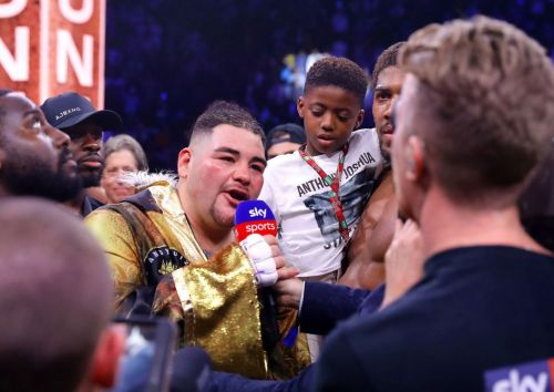 Andy Ruiz bemoans weight gain following wide points defeat to Anthony Joshua