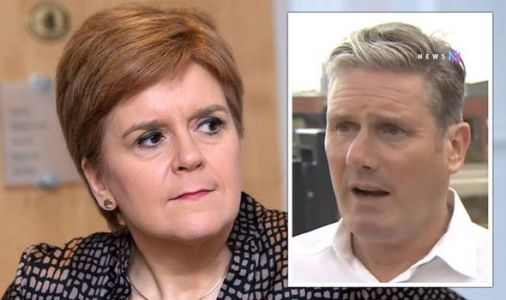 Oh dear, Nicola! Labour leaders team up in fight against indyref2 'People are dying'