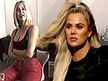 Khloe Kardashian sizzles in GA video after it's claimed she is 'conflicted' over Tristan