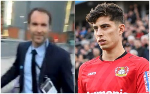 Petr Cech responds to Chelsea fan asking about Kai Havertz transfer after FA Cup loss to Arsenal