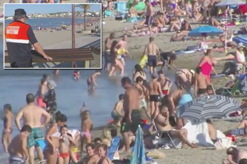 Boy, 4, and dad, 29, drown in front of distraught mum in Spanish beach tragedy