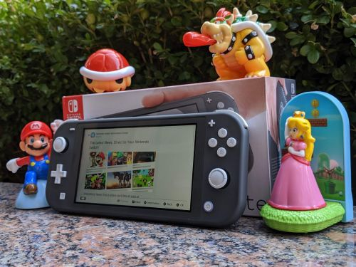 Nintendo just launched a less expensive, smaller version of the wildly popular Nintendo Switch - take a look