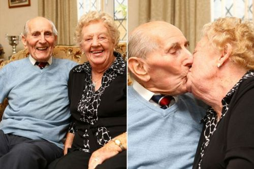 'soulmate' husband dies in her arms after 75 years together