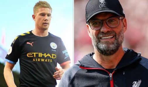 Kevin de Bruyne laughs off Liverpool's five-point lead as Man City star fires warning