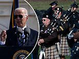 Joe Biden dons aviators to pay tribute to 491 police officers who died in the line of duty
