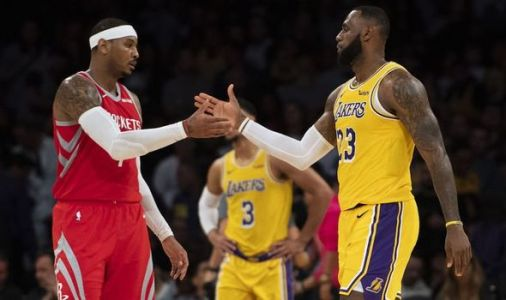 LeBron James congratulates 'brother' Carmelo Anthony NBA return after joining Portland