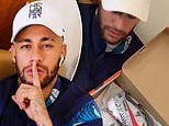 Neymar puts injury woes to one side as PSG star launches signature £229 Mercurial Vapor 360 boots
