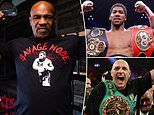 Mike Tyson's trainer confident he can beat current heavyweight kings Anthony Joshua and Tyson Fury