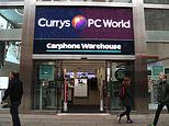 Dixons Carphone's mobile phone sales continue to fall but retailer holds profit forecast