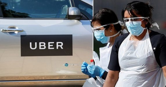 Uber to give NHS staff free trips and meals while on coronavirus frontline