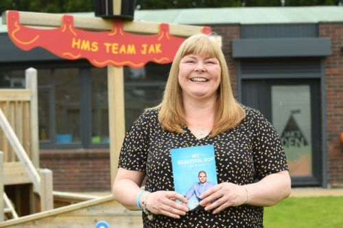 West Lothian woman's unique biography of her son launched live online tonight