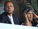 Neymar's father reveals his son is in talks with PSG over a new deal amid Real Madrid links