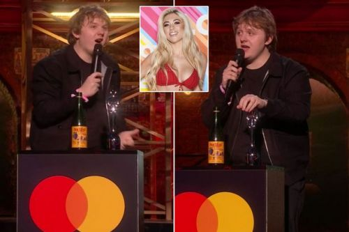Lewis Capaldi makes hilarious dig at Love Island ex Paige Turley at BRITs