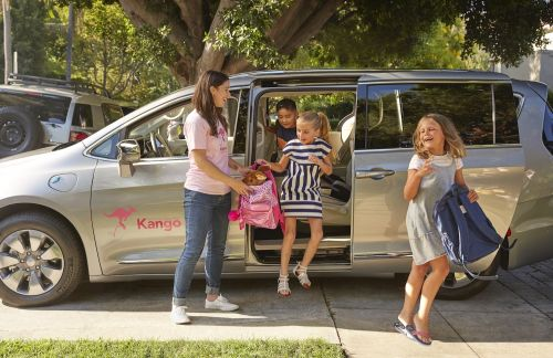 Kids can't take Uber and Lyft rides alone. A startup thinks it found the perfect solution - and has backing from the US' largest school bus company