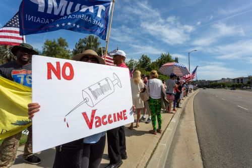 White conservatives are the most staunchly resistant to vaccines in the US, a new poll shows
