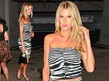 Charlotte McKinney brings the wow factor as she leaves LA hotspot flashing a hint of her toned abs