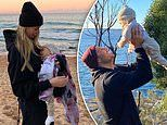 Jennifer Hawkins and husband Jake Wall dote on their sweet eight-month-old daughter, Frankie Violet