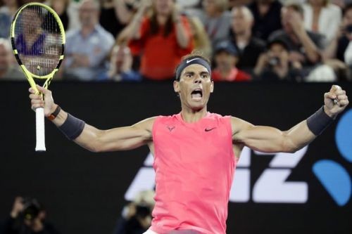 Rafa Nadal sees off challenge of Nick Kyrgios to advance in Australian Open