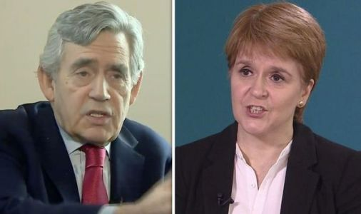 Nicola Sturgeon shock: Gordon Brown argues there is 'no case' for SNP indyref2 next year