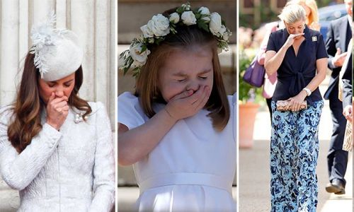 From Princess Charlotte to Kate Middleton - all the times royals suffer from hay fever