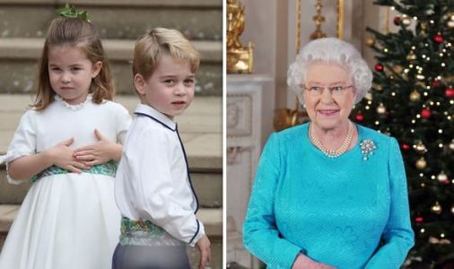 George and Charlotte did this Christmas tradition with Kate's family - but not the Queen