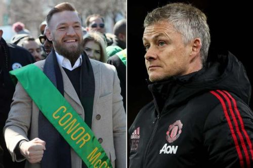 """Conor McGregor wants Ole Gunnar Solskjaer's Man Utd role """"rearranged"""" after Liverpool loss"""