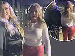 Gemma Collins and Carol Vorderman compare their peachy posteriors in a hilarious 'butt-off'