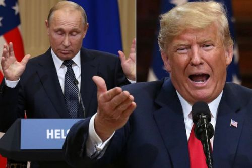 Donald Trump backtracks after slating US intelligence agencies over Russia and claims he 'misspoke' during Putin meeting