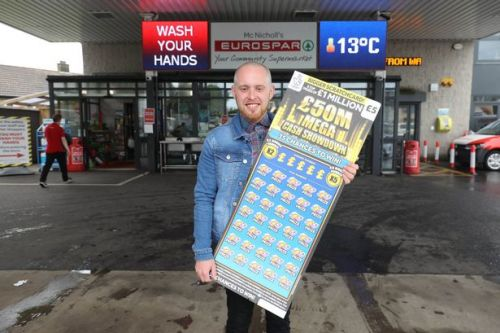 Supermarket manager wins £1 million off £5 scratchcard but vows not to quit job