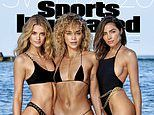 Sports Illustrated Swimsuit unveils THREE cover stars: Olivia Culpo, Jasmine Sanders, and Kate Bock