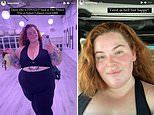 Tess Holliday is 'hyped' to be doing hot Pilates and says 'fat folks like moving their bodies'