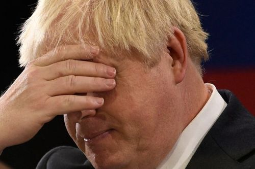 Boris Johnson Channels Churchill By Painting While On Holiday - But No-One Is Impressed