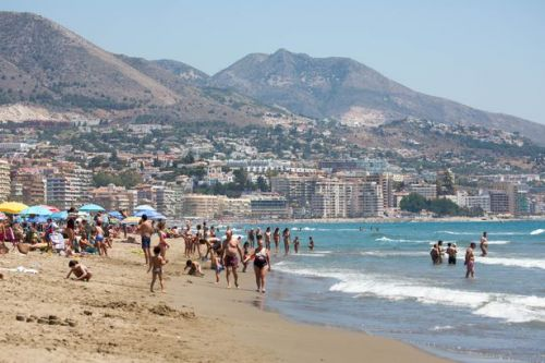 Sunseekers turned away from Costa del Sol beaches due to social distancing rules