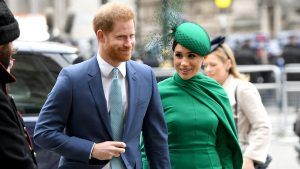Meghan and Harry wore matching love bracelets in their latest appearance
