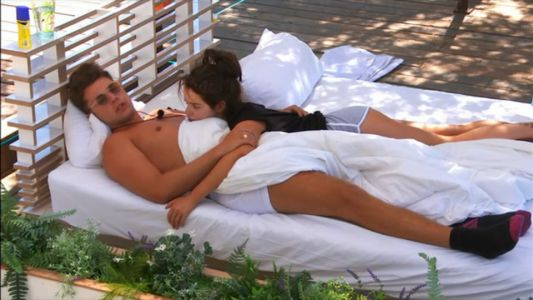 Love Island fans convinced Curtis Pritchard and Maura had SEX on the daybed as he calls the ring girl a 'bad influence'