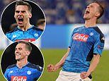 Napoli 4-0 Genk: Milik hits first half hat-trick to book spot in Champions League last-16