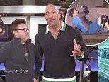 The Rock challenges Ellen producer Average Andy to compete in his new show The Titan Games