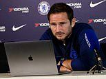 Frank Lampard defends Marcos Alonso after the Spaniard was criticised for role in West Ham defeat
