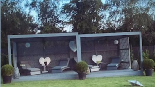 Gemma Collins brings Ibiza to Essex as she transforms enormous garden with luxury summerhouse