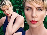 Charlize Theron photographs herself in her Hollywood backyard for Entertainment Weekly cover story