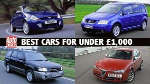 Best cars for £1,000 or less