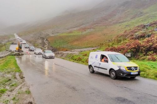 Travel chaos as Scots roads flooded and trains cancelled as rain batters country