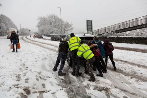 Ambulance service declares 'major incident' after struggling with demand in snow