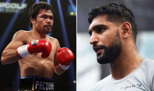 Manny Pacquiao delivers hilarious response when told Amir Khan fight is supposedly agreed