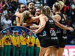 New Zealand resist late Australian fightback to win their first Netball World Cup since 2003