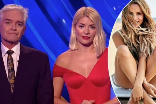 Phillip Schofield and Holly Willoughby pay emotional tribute to Caroline Flack on Dancing On Ice