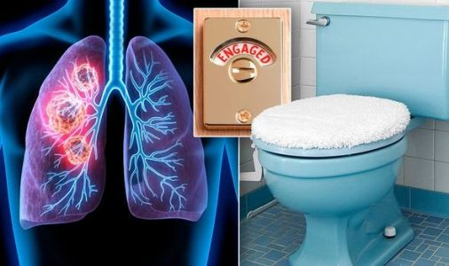 Lung cancer warning - the 'surprising' change to your toilet routine that could be a sign