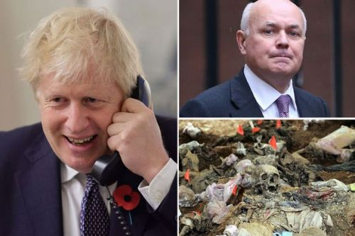 Boris Johnson hit by Tory revolt on trade deals with nations committing genocide