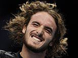 Stefanos Tsitsipas beats Daniil Medvedev in ATP Finals group match